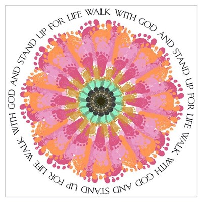 Stand Up For Life Wall Art Poster