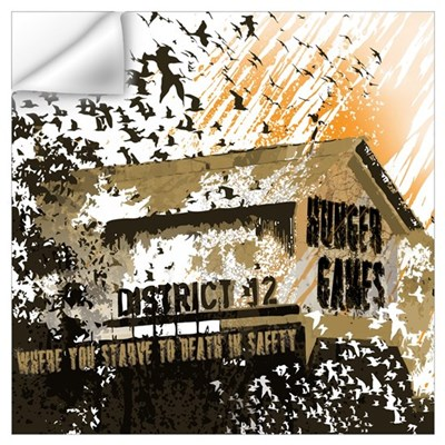 District 12 Mining Hunger Games Gear Wall Art Wall Decal
