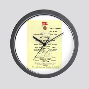 Luncheon...is served. Wall Clock