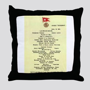 Luncheon...is served. Throw Pillow