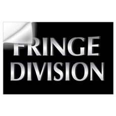 Cool Metallic Fringe Division Wall Art Wall Decal