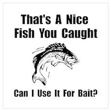 Fish Bait Wall Art Poster