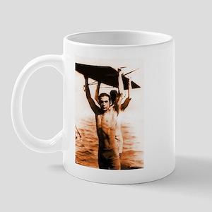 Rudolph Valentino Swimsuit Pi Mug