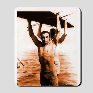 Rudolph Valentino Swimsuit Pi Mousepad