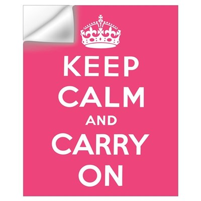 Keep Calm and Carry On Wall Art Wall Decal