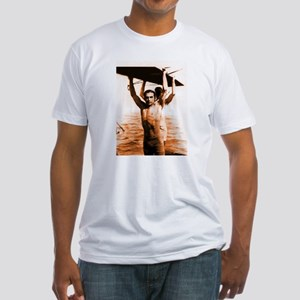Rudolph Valentino Swimsuit Pi Fitted T-Shirt