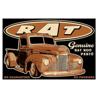 RAT - Truck Wall Art Poster