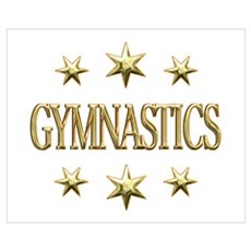Gymnastics Stars Wall Art Canvas Art