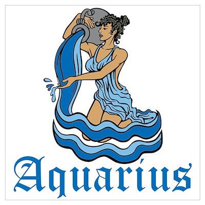 Aquarius Wall Art Poster