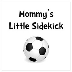 Mommy's Sidekick Soccer Wall Art Canvas Art