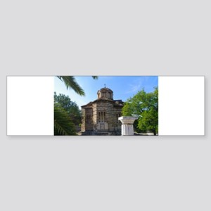 Byzantine church Sticker (Bumper)