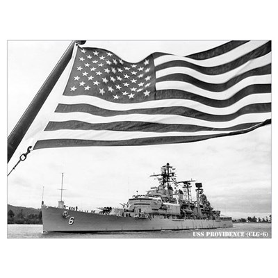 USS PROVIDENCE Wall Art Poster