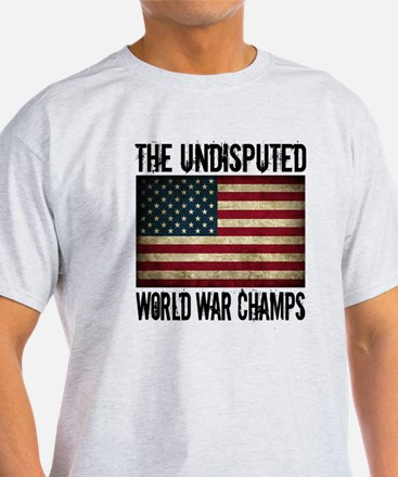 Funny World war undefeated T-Shirt