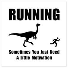 Running Motivation Wall Art Poster
