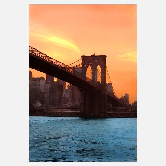 Brooklyn Bridge Sunset Print