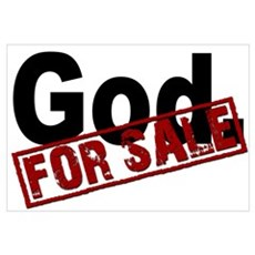 God. FOR SALE Wall Art Framed Print