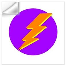 Lightning Bolt Logo Wall Art Wall Decal