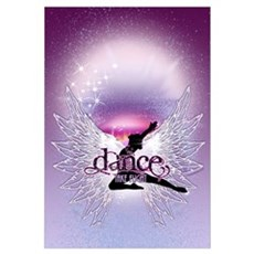 Crystal Dancer Wall Art Canvas Art