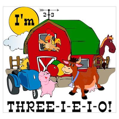 THREE-I-E-O Wall Art Poster