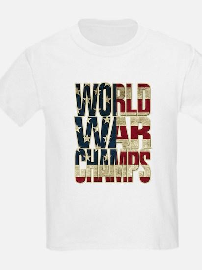 World War Champs - US Flag T-Shirt