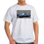 New York City Police Car Light T-Shirt