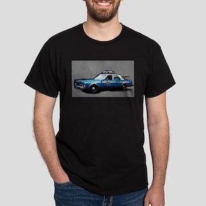 New York City Police Car Dark T-Shirt