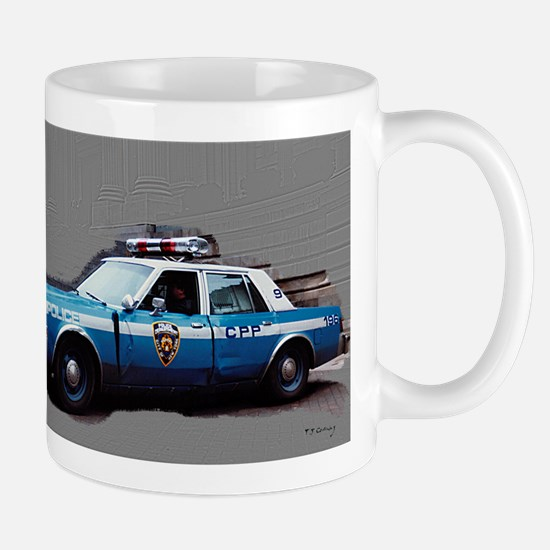 New York City Police Car Mug
