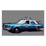 New York City Police Car Sticker (Rectangle)