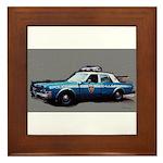 New York City Police Car Framed Tile