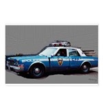 New York City Police Car Postcards (Package of 8)