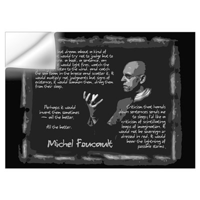 Foucault's Critique Wall Art Wall Decal