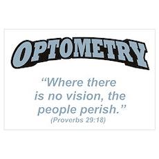 Optometry / Perish Wall Art Poster