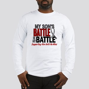 My Battle Too Brain Cancer Long Sleeve T-Shirt