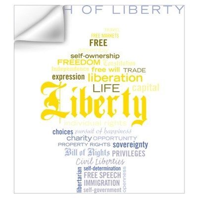 Torch of Liberty Wall Art Wall Decal