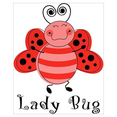 Ladybug Wall Art Canvas Art