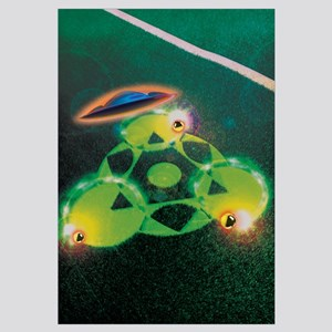 UFOs and Crop Circles Wall Art