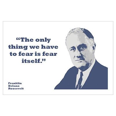 Roosevelt - Fear Wall Art Poster