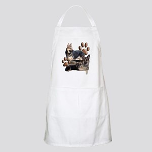 german shepherd family Apron
