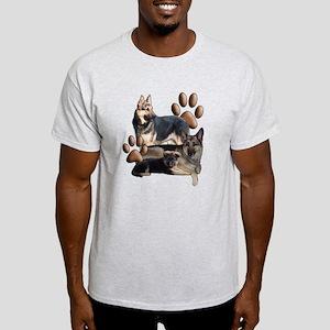 german shepherd family Light T-Shirt
