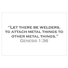 Welders / Genesis Wall Art Poster