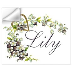 Lily Wall Art Wall Decal