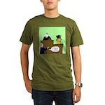 Clearly Nuts Organic Men's T-Shirt (dark)