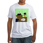 Clearly Nuts Fitted T-Shirt