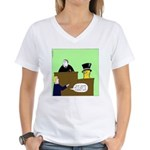 Clearly Nuts Women's V-Neck T-Shirt