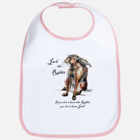 Jack the Rabbit 1 Bib
