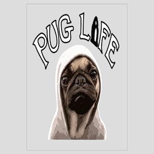 Pug Life Wall Art