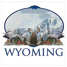 Wyoming Wall Art Poster