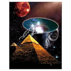 Ancient Aliens Wall Art Poster