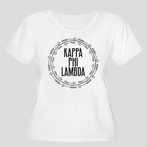 Kappa Phi Lambda sorority circle arrow Plus Size T