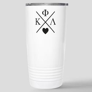 Kappa Phi Lambda sorority cross heart Mugs
